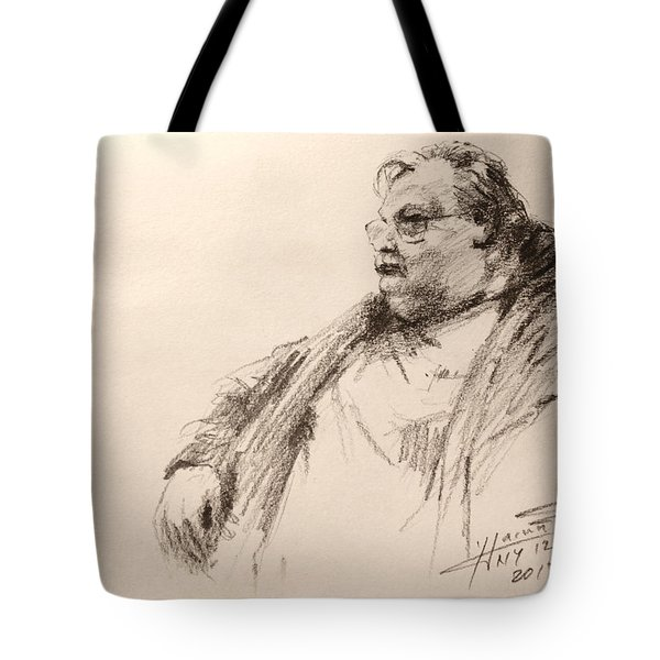 Sketch Man 12 Tote Bag