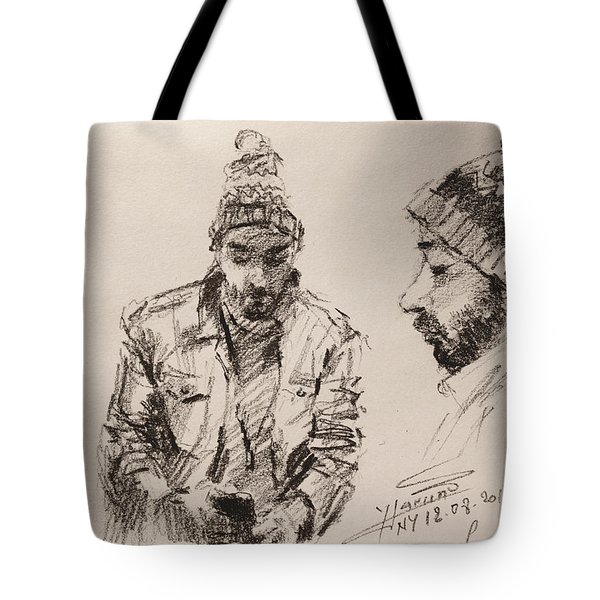 Sketch Man 13 Tote Bag