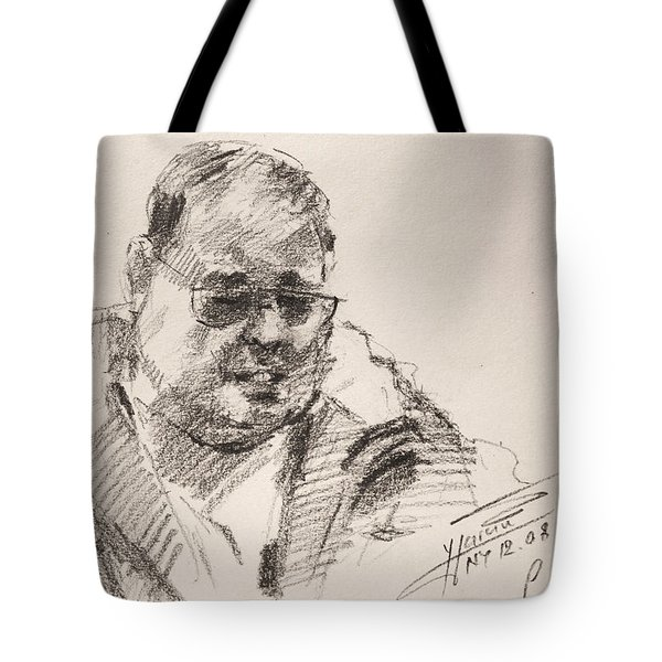 Sketch Man 14 Tote Bag