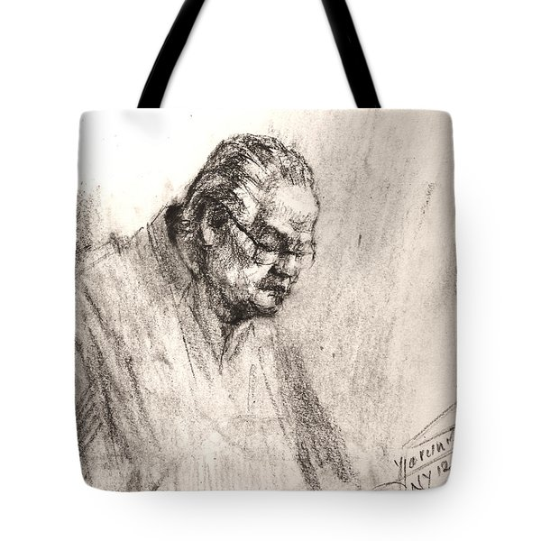 Sketch Man 17 Tote Bag