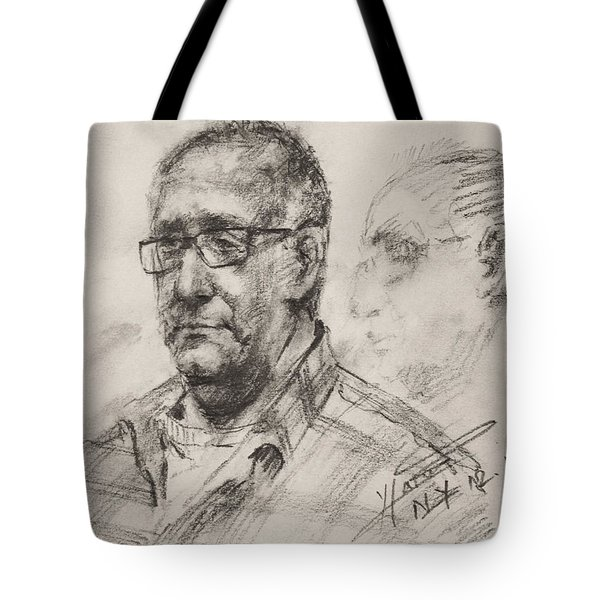 Sketch Man 18 Tote Bag