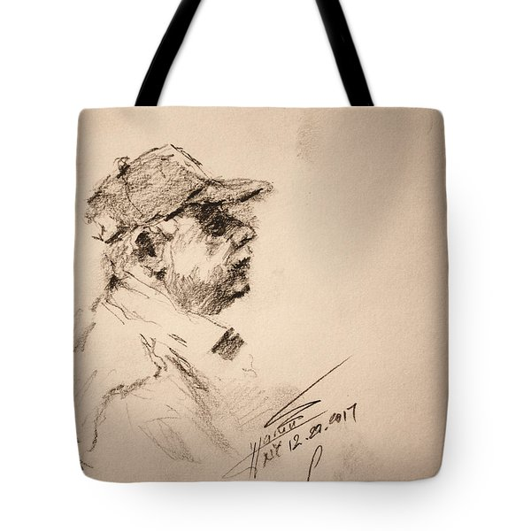 Sketch Man 19 Tote Bag