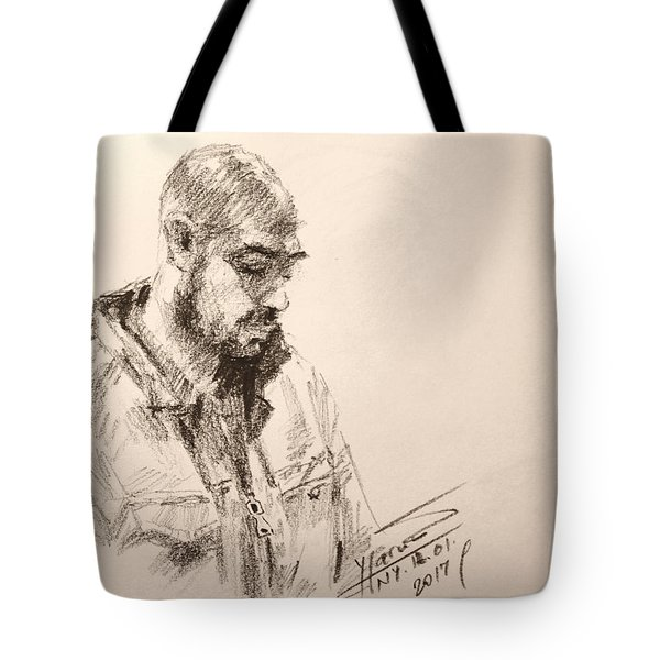 Sketch Man 9 Tote Bag