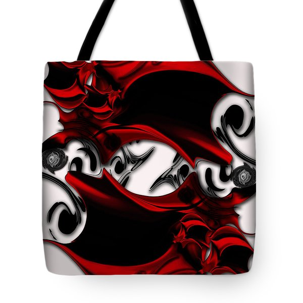 Sketch Of Aesthetic Dimensionality Tote Bag