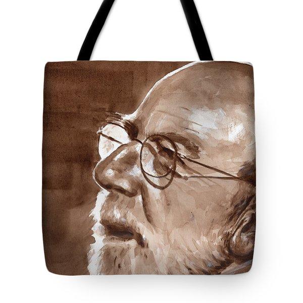 Sketch Of Bill Tote Bag
