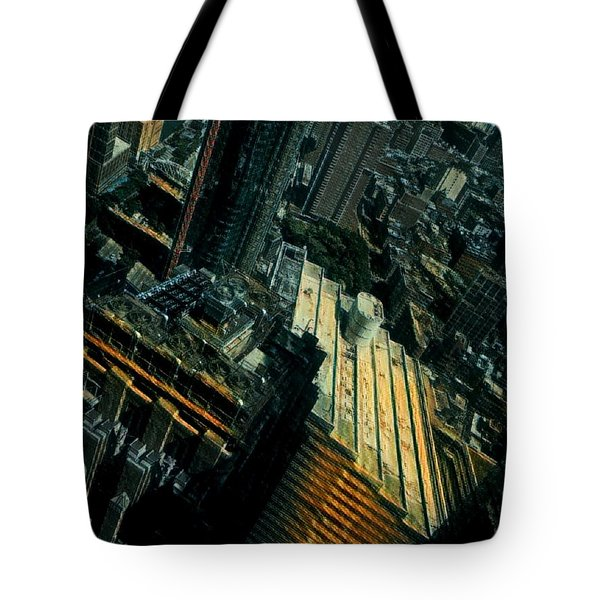 Skewed View Tote Bag