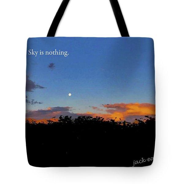 Skg Is Nothing Tote Bag by Jack Eadon