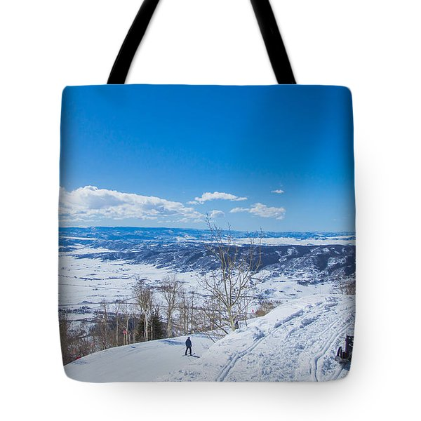 Ski Patrol Tote Bag