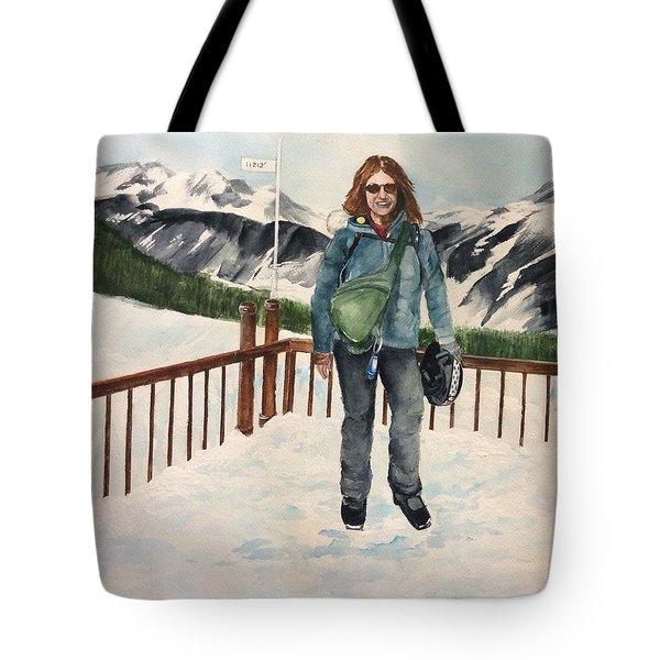 Ski Trip Tote Bag