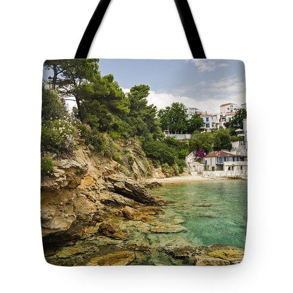 Skiathos Island Greece Tote Bag