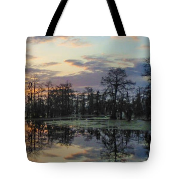 Skies Across The North End Tote Bag
