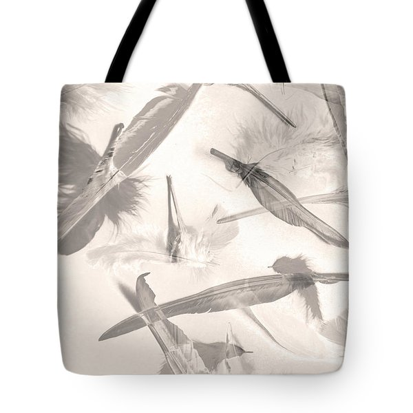Skies Of A Feather Tote Bag