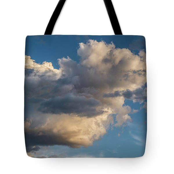 Skies Over Ghost Ranch New Mexico Tote Bag