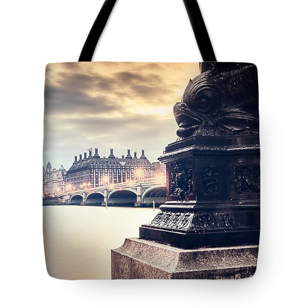 Skies Over London Tote Bag
