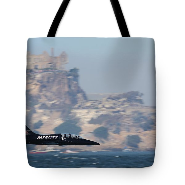 Tote Bag featuring the photograph Skimming The Bay by John King