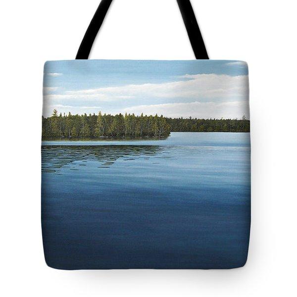 Skinners Bay Muskoka Tote Bag by Kenneth M  Kirsch