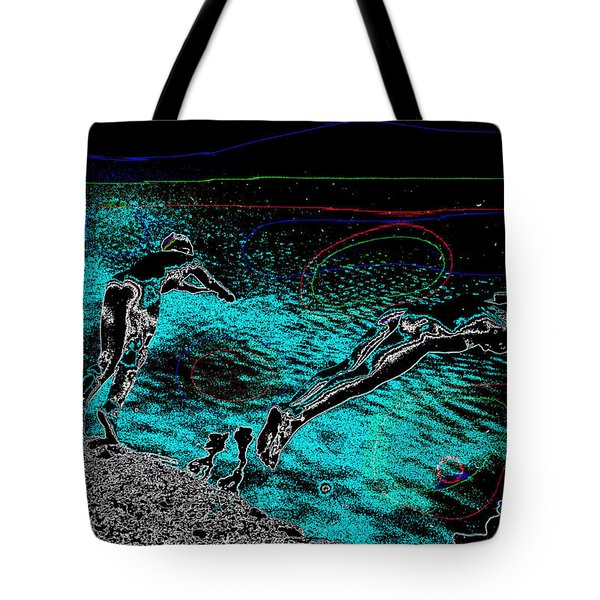 Skinning Dipping Tote Bag