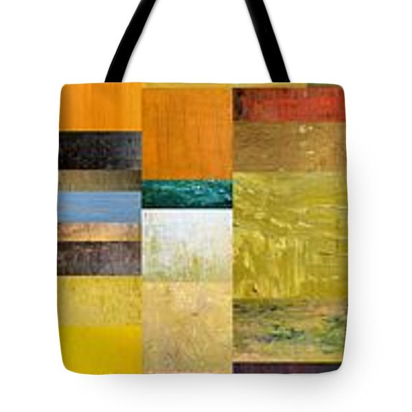 Skinny Color Study L Tote Bag by Michelle Calkins