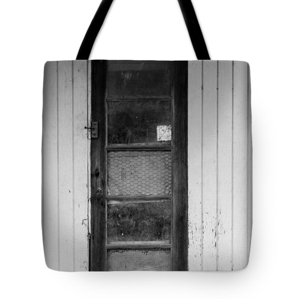 Tote Bag featuring the photograph Skinny Door by Erin Kohlenberg