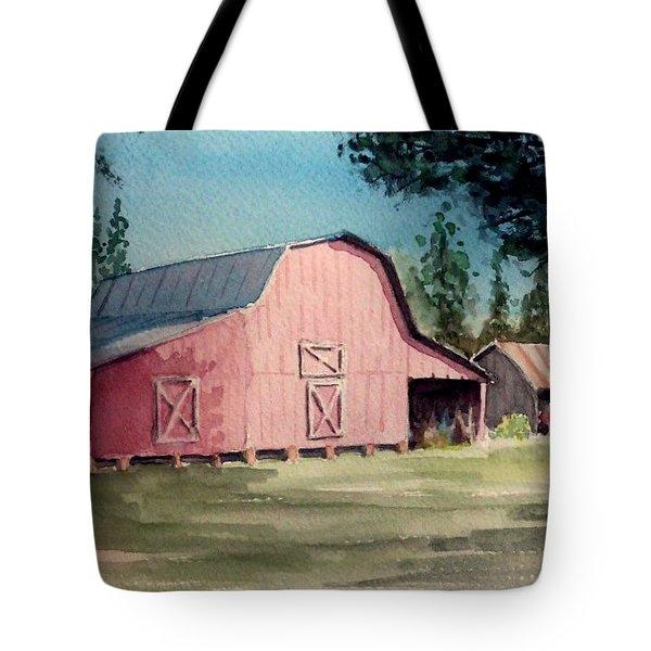 Skip Kelly's Barn Tote Bag