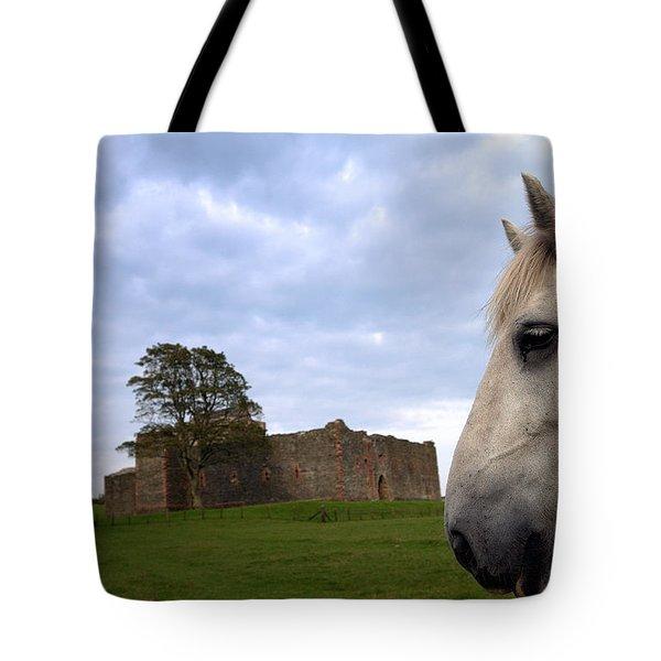 Skipness Castle Tote Bag