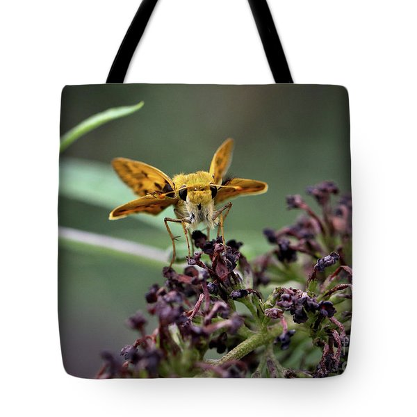 Tote Bag featuring the photograph Skipper II by Douglas Stucky