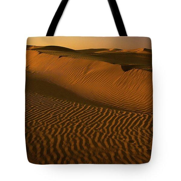 Skn 1127 The Golden Dunes Tote Bag