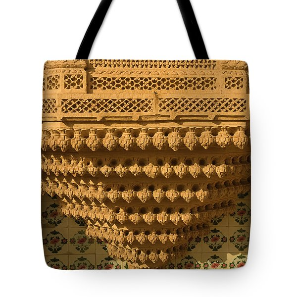 Skn 1323 Endearing Carvings Tote Bag