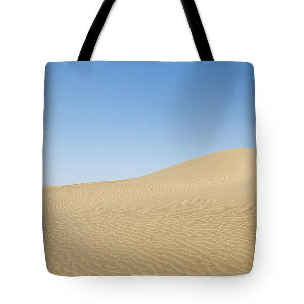 Skn 1412 The Ripples On The Slope Tote Bag by Sunil Kapadia