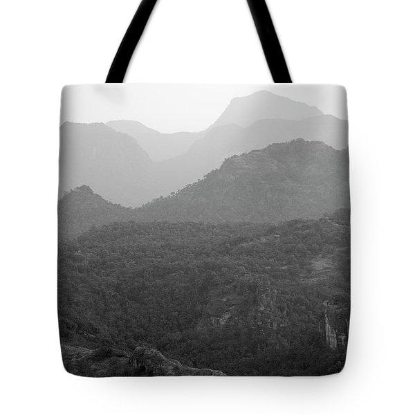 Skn 4443 Rolling Landscape Tote Bag