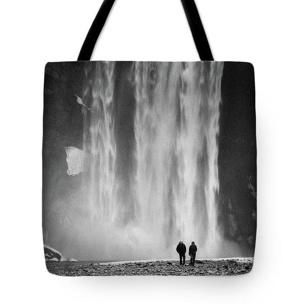 Skogafoss Tote Bag