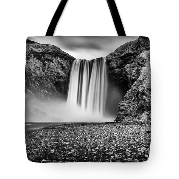 Tote Bag featuring the photograph Skogafoss by James Billings