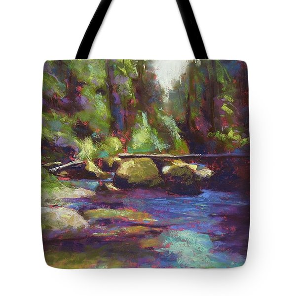 Skokomish River Tote Bag by Mary McInnis