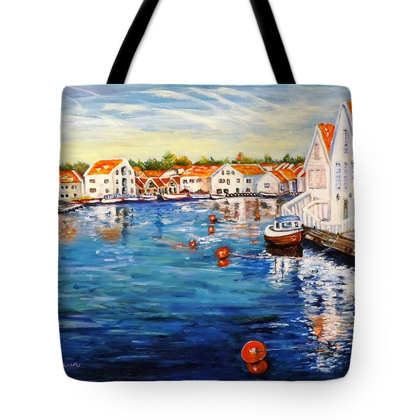 Skudeneshavn Norway Tote Bag
