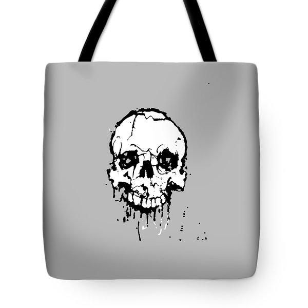 Skull Tote Bag by H James Hoff