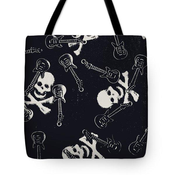 Skull Rockers Art Tote Bag