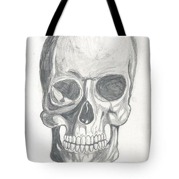 Skull Study 2 Tote Bag