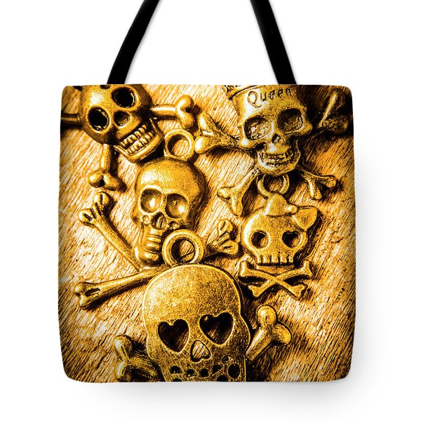 Tote Bag featuring the photograph Skulls And Crossbones by Jorgo Photography - Wall Art Gallery