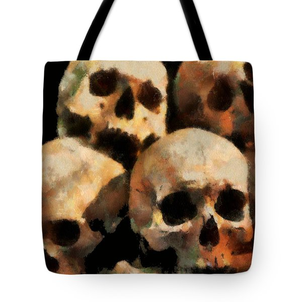Skulls Tote Bag