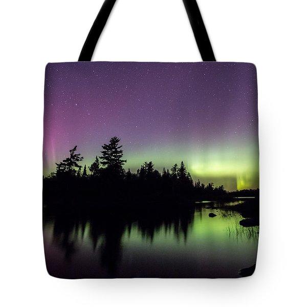 Sky Aglow Tote Bag