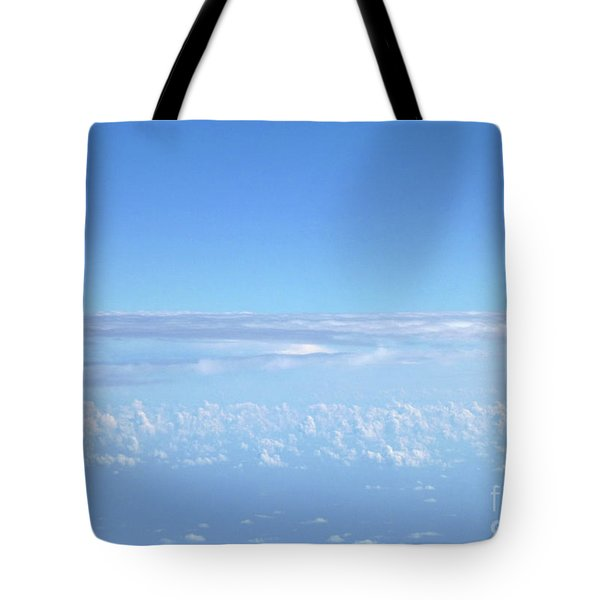 Tote Bag featuring the photograph sky and clouds M1 by Francesca Mackenney