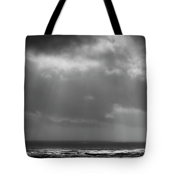Tote Bag featuring the photograph Sky And Ocean by Ryan Manuel