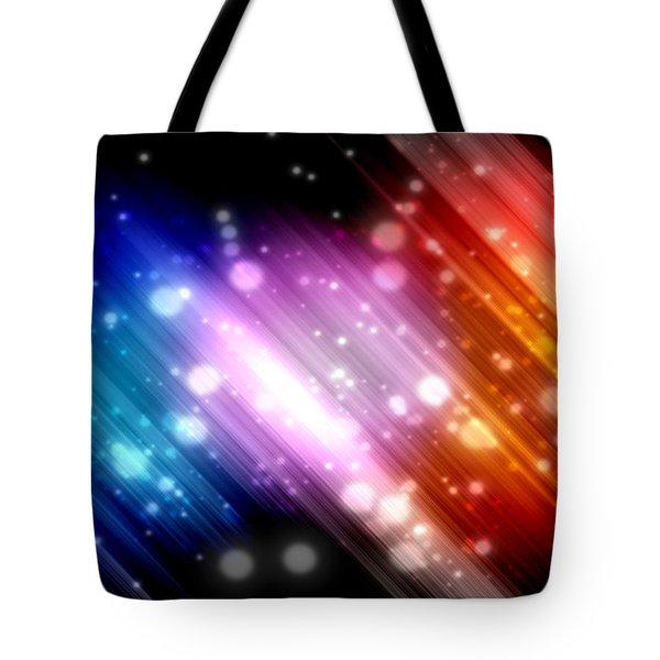 Sky Beams Tote Bag