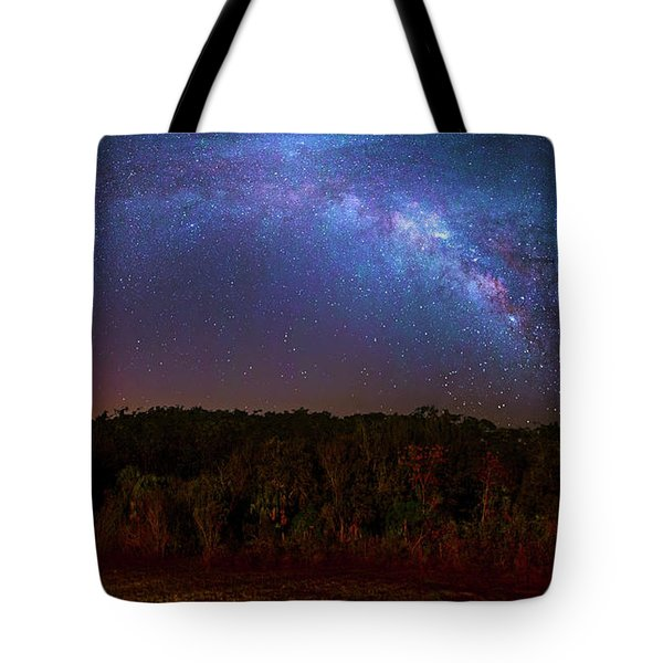 Sky Bridge Tote Bag by Mark Andrew Thomas