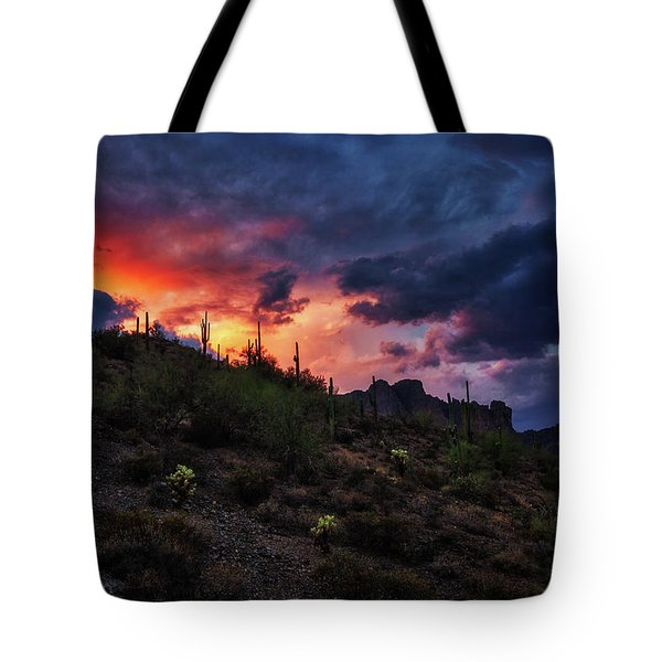 Sky Candy Tote Bag