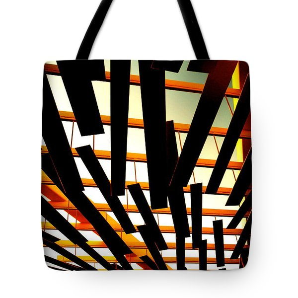 Sky Chasm Tote Bag by Cathy Dee Janes