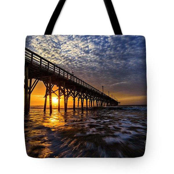 Sky Divided Tote Bag