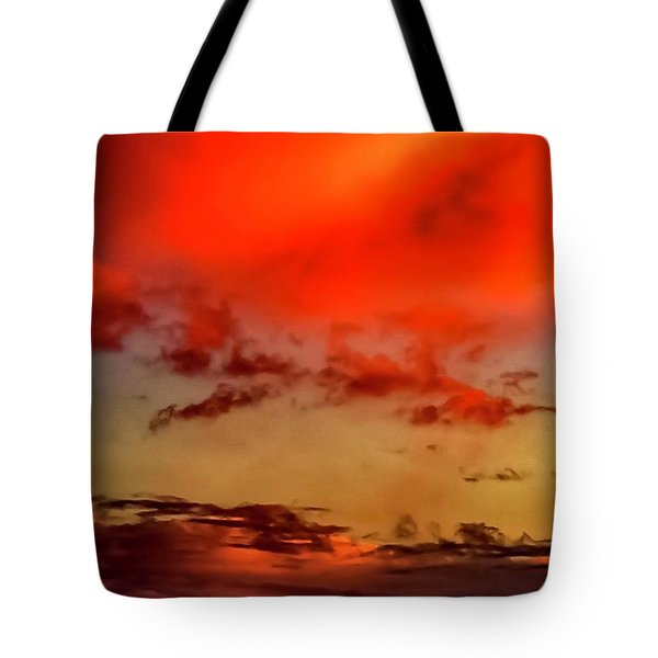 Tote Bag featuring the photograph Sky Drama  by Cliff Norton