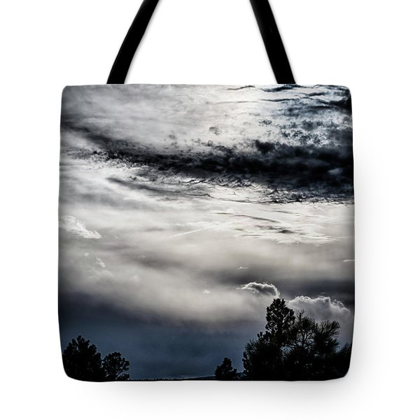 Sky Drama Tote Bag