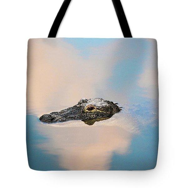 Sky Gator Tote Bag